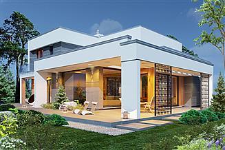 Projekt domu Domidea 101 2G energooszczędny