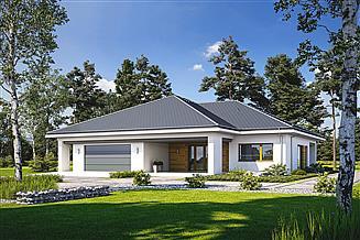 Projekt domu Widoczny D54