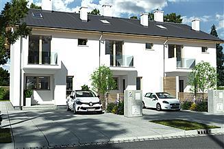 Projekt domu Elena A segment środkowy