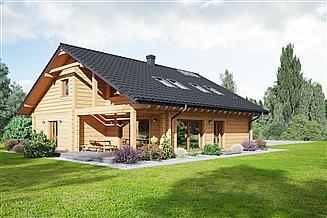 Projekt domu Tychowo dw