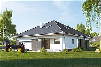 Projekt domu E-244