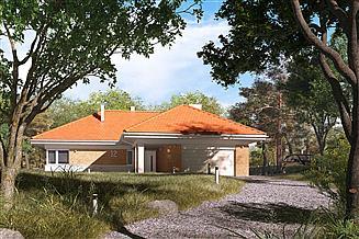 Projekt domu Ambrozja 12