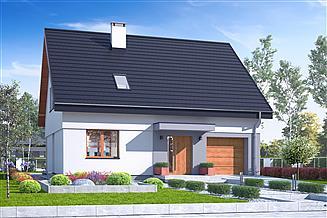 Projekt domu Igor z garażem 1-st. [A]