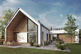 Projekt domu Z wnęką 05