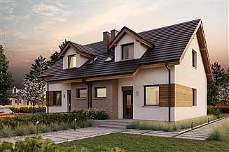 Projekt domu Eco 25 dwulokalowy