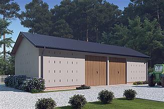 Projekt stodoły Murator IGC11b Stodoła