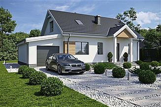 Projekt domu Tuluza VII LMB31f