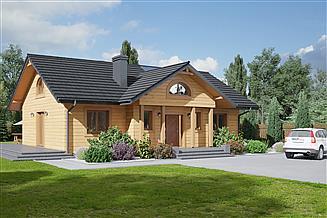 Projekt domu Chmielów 6 dws