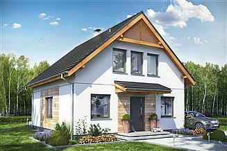 Projekt domu Baset 7 bez garażu