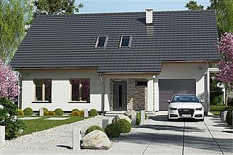 Projekt domu Werbena Lux A