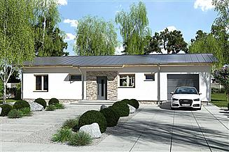 Projekt domu Nina 1 Nova D