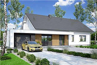 Projekt domu Mochito