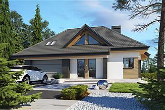 Projekt domu Reksio N 2G+