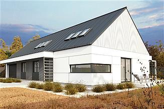 Projekt domu uA76v1