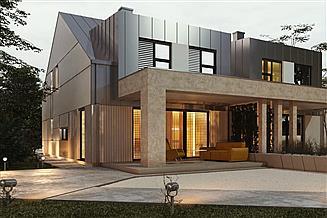 Projekt domu uA117