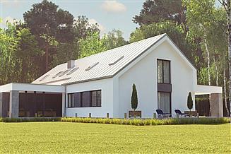 Projekt domu uA122