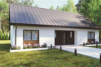 Projekt domu uA89v1