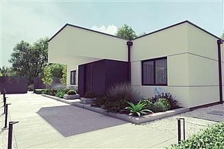 Projekt domu uA118
