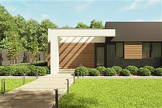 Projekt domu uA110