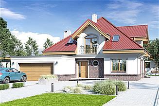 Projekt domu Nowa II z garażem 2-st. [A]