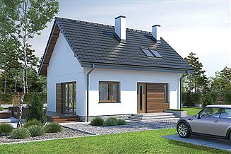 Projekt domu Murator M245 Trafna decyzja (etap I)