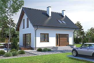 Projekt domu Murator M245 Trafna decyzja (etap II)