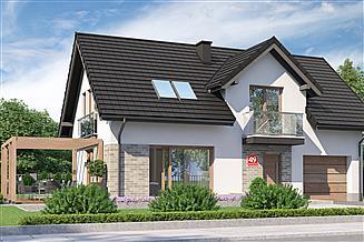 Projekt domu Dom przy Alabastrowej 49