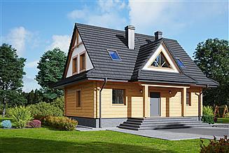Projekt domu Jurgów 7 dw