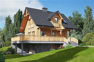 Projekt domu Świeszewo 9 dws