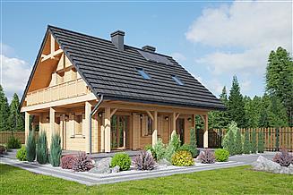 Projekt domu Świdnica mała dwk