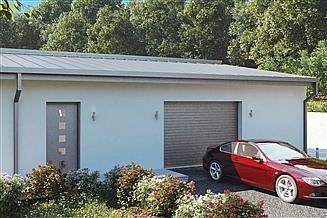 Projekt garażu uAG3