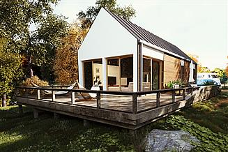 Projekt domu uA67v2