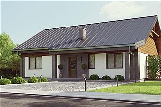 Projekt domu uA28v1