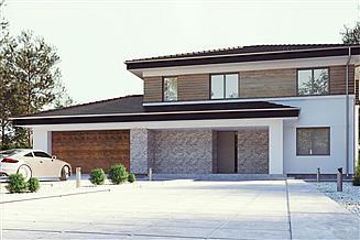 Projekt domu uA123