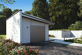 Projekt garażu uAG4