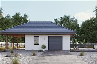 Projekt garażu uAG5