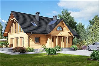Projekt domu Chmielów dw 25