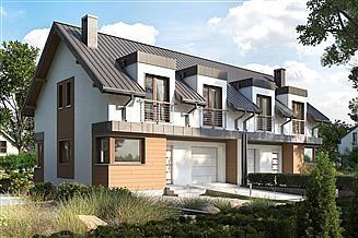 Projekt domu Miłosz Duo - murowana – beton komórkowy