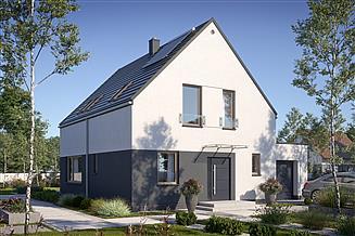 Projekt domu N19-G1