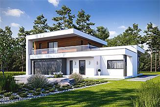 Projekt domu Nowatorski D57