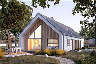 Projekt domu Jemioła 4