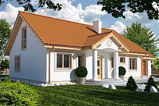 Projekt domu Kinga A