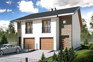 Projekt domu Konrad 2-lokalowy PLP