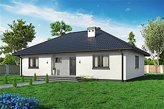 Projekt domu Domek Mokka (053 ET)