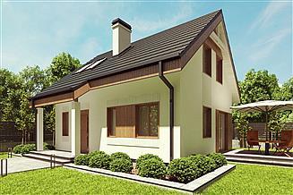 Projekt domu uA98