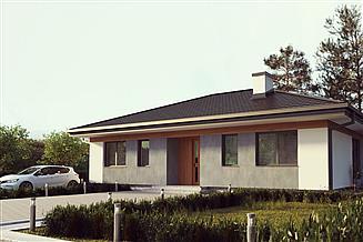 Projekt domu uA131