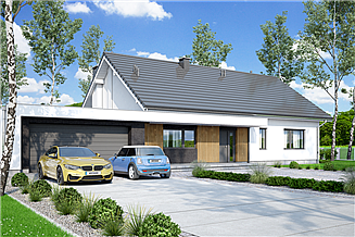 Projekt domu Mochito 2