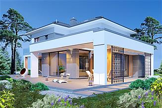 Projekt domu Domidea 104d 2G