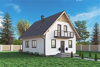 Projekt domu Domek Mały (004 ET)