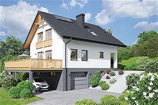 Projekt domu Bartne 39